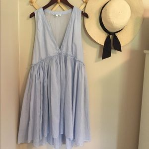 Anthropologie Light Blue Dress